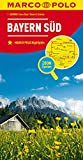MARCO POLO Karte Deutschland Blatt 13 Bayern Süd 1:200 000: Wegenkaart 1:200 000 (MARCO POLO Karten 1:200.000)