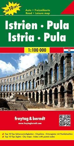 Freytag Berndt Autokarten, Istrien - Pula - Maßstab 1:100.000 (freytag & berndt Auto + Freizeitkarten)