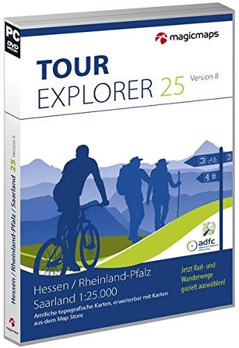 Tour Explorer 25 - Hessen, Rheinland-Pfalz, Saarland 8.0