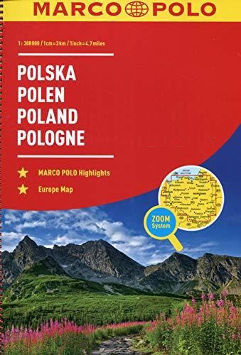 MARCO POLO Reiseatlas Polen 1:300 000: Wegenatlas 1:300 000 (MARCO POLO Reiseatlanten)