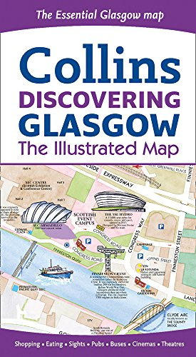 Discovering Glasgow Illustrated Map (Maps)