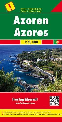 Azoren, Autokarte 1:50.000: Toeristische wegenkaart 1:50 000 (freytag & berndt Auto + Freizeitkarten)