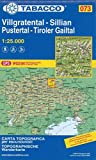 Wanderkarte 73 Villgratental-Sillian- Pustertal-Tiroler Gailtal 1:25 000