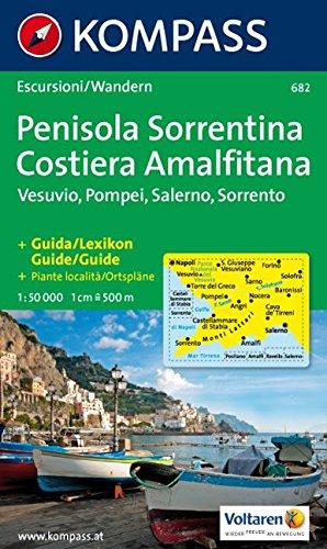 Kompass Karten, Penisola Sorrentina