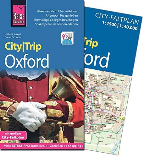 Reise Know-How CityTrip Oxford: Reiseführer mit Faltplan und kostenloser Web-App