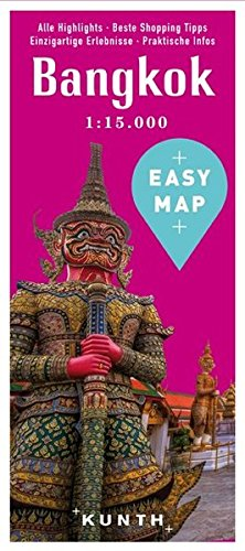 EASY MAP Bangkok: 1:15.000 (KUNTH EASY MAP / Reisekarten)