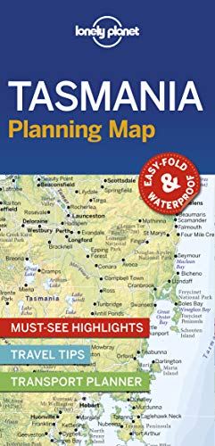 Lonely Planet Tasmania Planning Map (Lonely Planet Planning Maps)