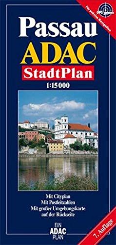 ADAC Stadtplan Passau (ADAC Stadtpläne)