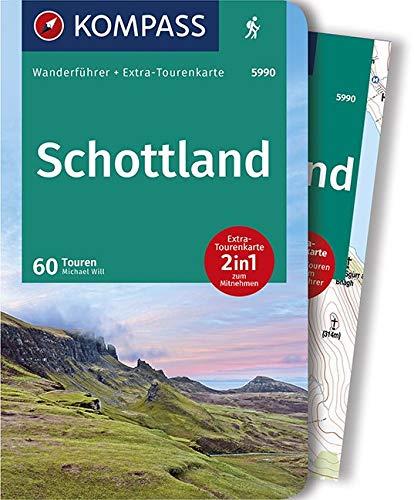 KOMPASS Wanderführer Schottland, Wanderungen an den Küsten und in den Highlands: Wanderführer mit Extra-Tourenkarte 1:50000, 60 Touren, GPX-Daten zum Download.