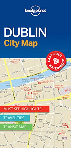 Lonely Planet DublinCity Map (Lonely Planet City Maps)