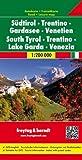 Südtirol - Trentino - Gardasee - Venetien, Autokarte 1:200.000 (freytag & berndt Auto + Freizeitkarten)