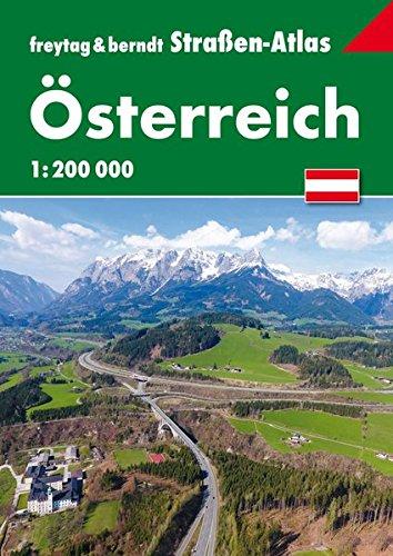 Österreich, Straßen-Atlas 1:200.000 (freytag & berndt Autoatlanten)