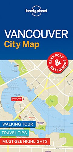 Lonely Planet Vancouver City Map (Lonely Planet City Map)