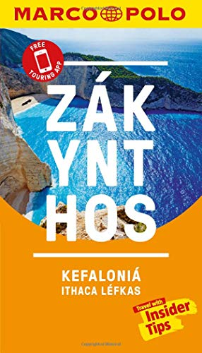 Zakynthos and Kefalonia Marco Polo Pocket Travel Guide 2019 - with pull out map (Marco Polo Guide)
