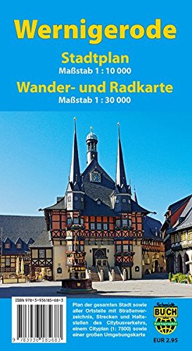 Stadtplan Wernigerode: Mit Cityplan sowie Rad- und Wanderkarte