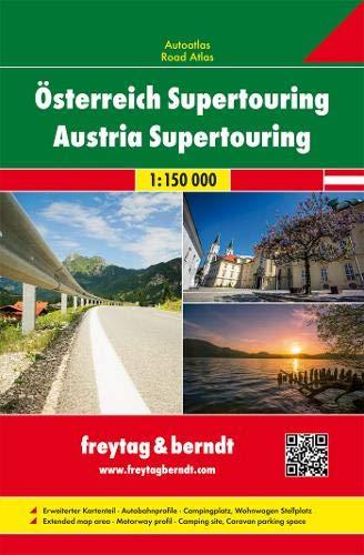 Österreich Supertouring, Autoatlas 1:150.000 (freytag & berndt Autoatlanten)
