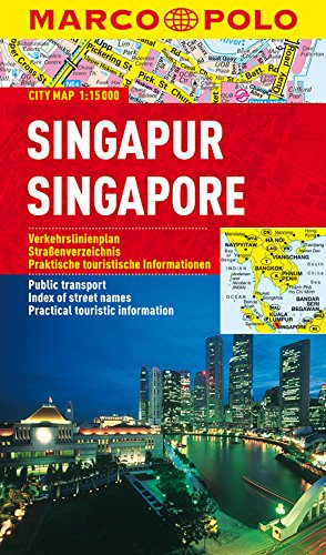 MARCO POLO Cityplan Singapur 1:15 000: Stadsplattegrond 1:15 000 (MARCO POLO Citypläne)