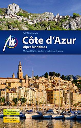 Côte d'Azur Reiseführer Michael Müller Verlag: Alpes Maritimes