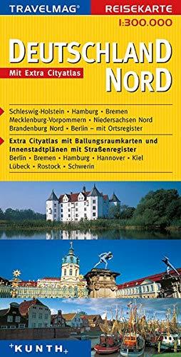 Reisekarte : Deutschland Nord