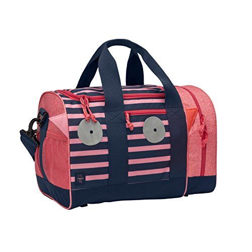 LÄSSIG Sporttasche Mädchen Kinder Sportbeutel mit Umhängeriemen / Mini Sportsbag, Little Monsters, Mad Mabel