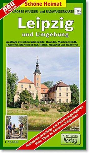 Doktor Barthel Wander- und Radwanderkarten, Leipzig und Umgebung (Schöne Heimat)