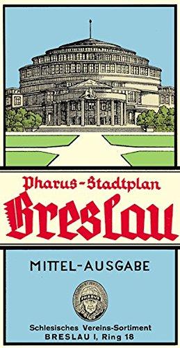 Pharus-Stadtplan Breslau 1941: Mittel-Ausgabe