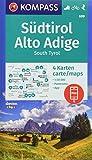 KOMPASS Wanderkarte Südtirol, Alto Adige, South Tyrol: 3 Wanderkarten 1:50000 mit 1 Panorama im Set inklusive Karte zur offline Verwendung in der ... Skitouren. (KOMPASS-Wanderkarten, Band 699)