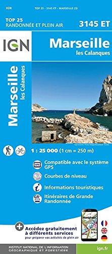 Marseille 1 : 25 000: Les Calanques