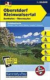 Oberstorf Kleinwalsertal Outdoorkarte Deutschland Nr. 1: Sonthofen, Oberstaufen, 1:35 000, Freemap on Smartphone included (Kümmerly+Frey Outdoorkarten Deutschland)