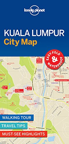 Lonely Planet Kuala Lumpur City Map (Lonely Planet City Map)