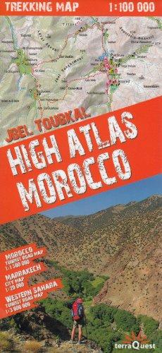 Hohen Atlas Wanderkarte 1:100.000 - Marokko - Marrakesch