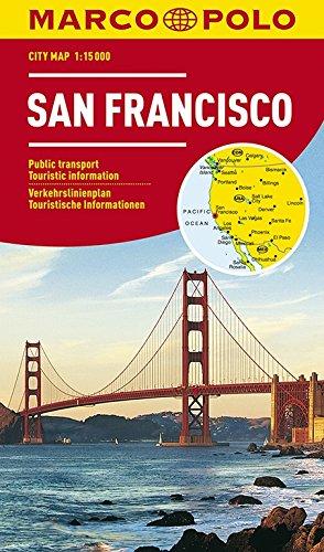 MARCO POLO Cityplan San Francisco 1:15 000: Stadsplattegrond 1:15 000 (MARCO POLO Citypläne)