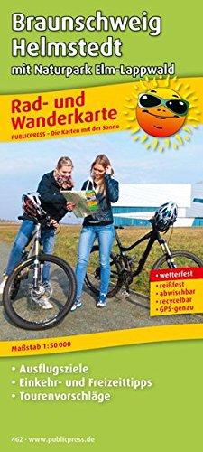 Braunschweig - Helmstedt mit Asse, Elm und Lappwald: Rad- und Wanderkarte mit Ausflugszielen, Einkehr- & Freizeittipps, wetterfest, reissfest, ... 1:50000 (Rad- und Wanderkarte / RuWK)