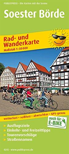 Soester Börde: Rad- und Wanderkarte mit Ausflugszielen, Einkehr- & Freizeittipps, wetterfest, reißfest, abwischbar, GPS-genau. 1:50000 (Rad- und Wanderkarte / RuWK)