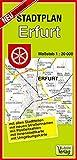 Stadtplan Erfurt: 1:20000