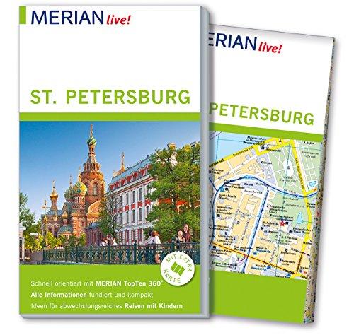 MERIAN live! Reiseführer St. Petersburg: Mit Extra-Karte zum Herausnehmen