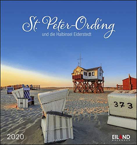 St. Peter-Ording und die Halbinsel Eiderstedt 2020 16x17cm