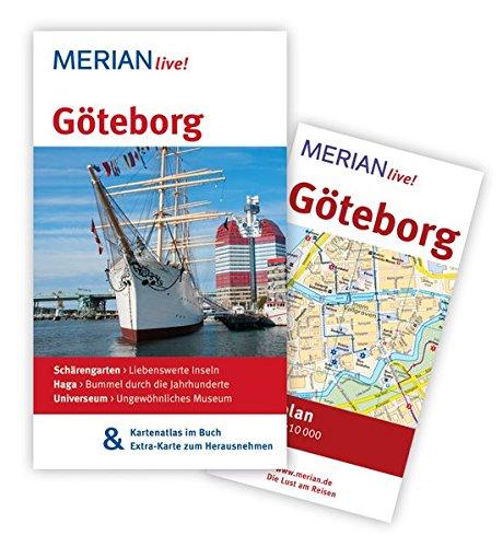 MERIAN live! Reiseführer Göteborg: MERIAN live! - Mit Kartenatlas im Buch und Extra-Karte zum Herausnehmen