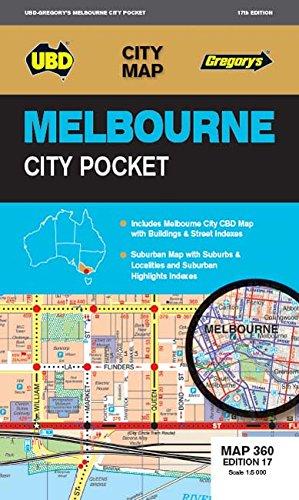 Melbourne City Pocket  1 : 120 000 - 1 : 5 000 (City Map)