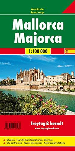 Mallorca, Planungskarte 1:100.000: Wegenkaart 1:100 000 (freytag & berndt Auto + Freizeitkarten)