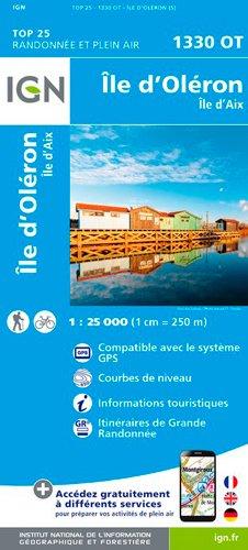 Île d`Oléron 1 : 25 000: Ile d'Aix