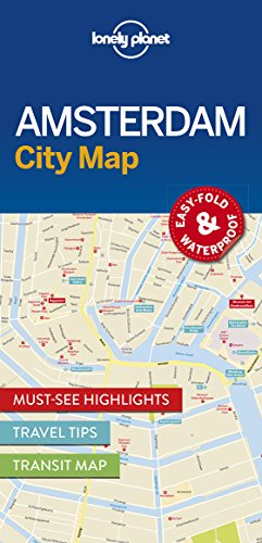 Lonely Planet Amsterdam City Map (Lonely Planet City Maps)