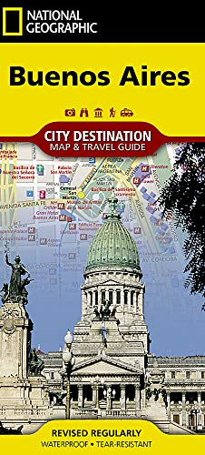 Buenos Aires (National Geographic City Destination Map & Travel Guides)