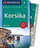 KOMPASS Wanderführer Korsika: Wanderführer mit Extra-Tourenkarte 1:125.000, 80 Touren, GPX-Daten zum Download.