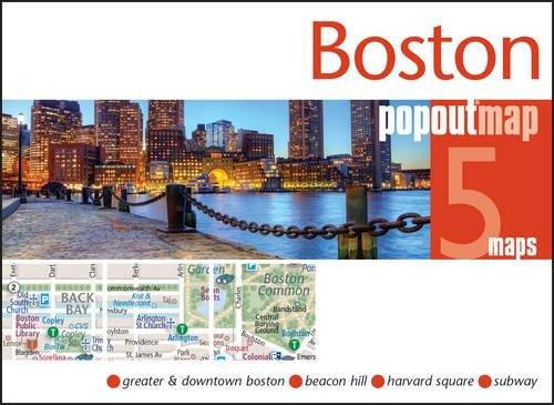 PopOut Map Boston. Double (Popout Maps)
