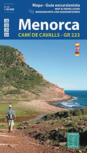 Menorca Wanderkarte 1 : 50 000 (Guias De Senderismo)