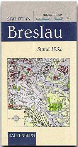 Stadtplan Breslau 1 : 10 500 (1932) (Rautenberg) (Rautenberg - Kartografie /Städte-Atlanten)