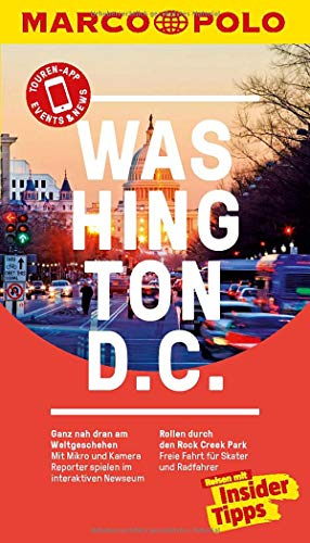 MARCO POLO Reiseführer Washington D.C.: Reisen mit Insider-Tipps. Inklusive kostenloser Touren-App & Update-Service