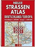 Neuer Straßenatlas Deutschland/Europa 2020/2021: Deutschland 1 : 300 000 . Europa 1 : 3 000 000