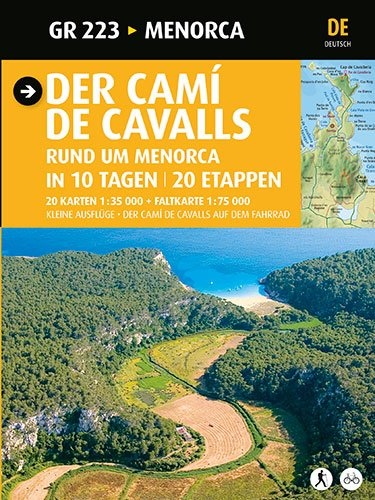 Der Camí de Cavalls: Menorca (Guia & Mapa)